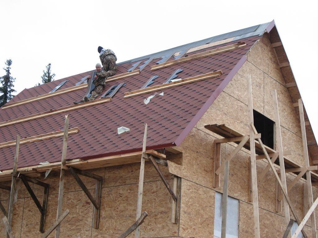 цена на постройку крыши