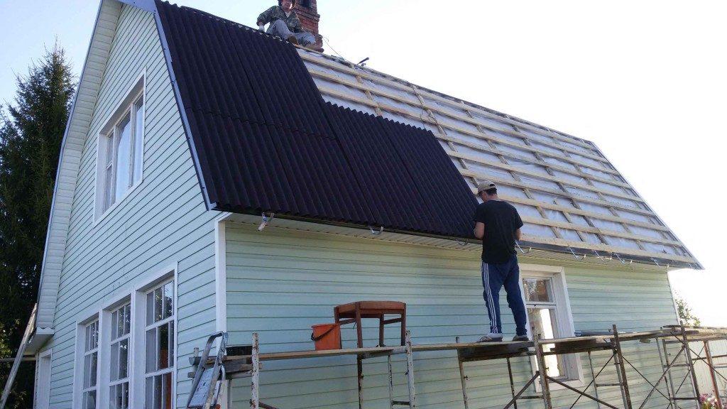 Как отремонтировать крышу самому