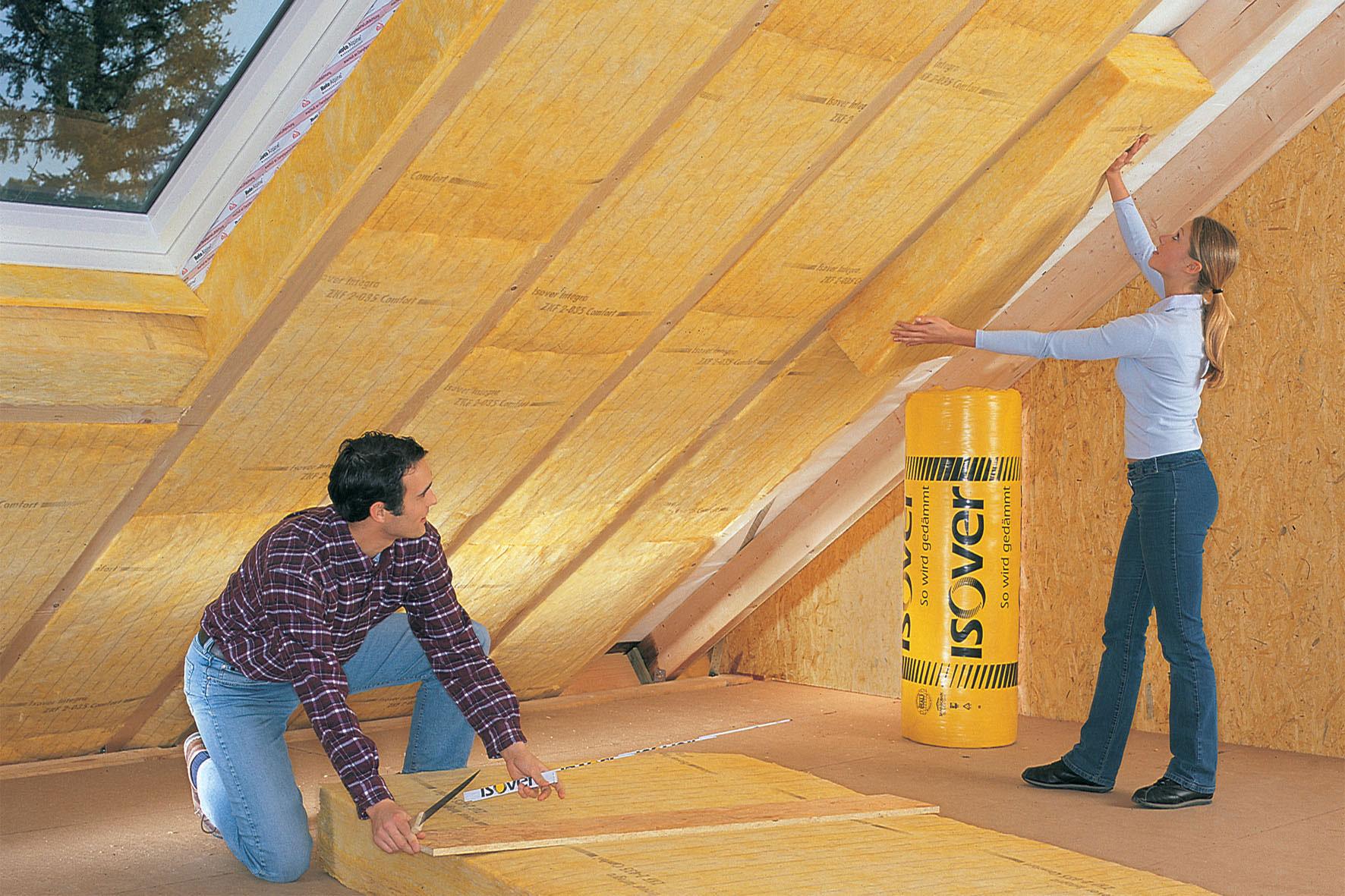 рейтинг утеплителей для крыши